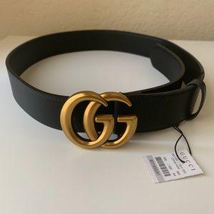 New GUCCI Marmot GG Belt